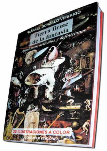 Libro Tierra firme de la fantasia Rafael Gonzalo